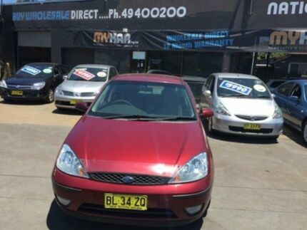 2002 Ford Focus LR CL Burgundy 4 Speed Automatic Sedan Islington Newcastle Area Preview