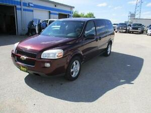 2008 CHEVROLET UPLANDER EXT LS $4,950 HAS SAFETY AND WARRANTY