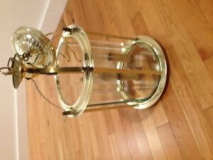 Brass entry light fixture in excellent condition London Ontario image 1