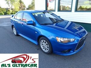 2012 Mitsubishi Lancer GT w/ leather, sunroof $136 bi-weekly!