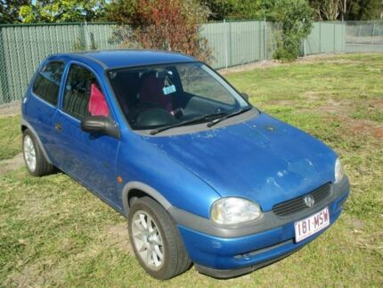 1999 Holden Barina SB City Blue 4 Speed Automatic Hatchback Kippa-ring Redcliffe Area Preview