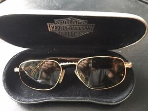 Classic Harley Davidson Polarized Sunglasses with HD hardcase