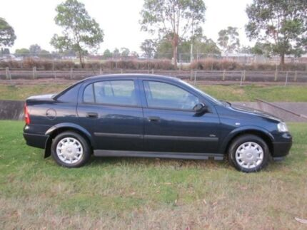 2003 Holden Astra TS City Blue 4 Speed Automatic Sedan