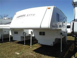 2011 Travel Lite 900SBSL Luxury Truck Camper with Slideout