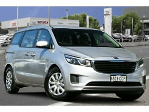 2018 Kia Carnival YP MY18 S Silver 6 Speed Sports Automatic Wagon Adelaide CBD Adelaide City Preview
