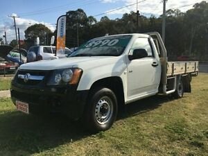 2008 Holden Colorado RC DX (4x2) White 5 Speed Manual Cab Chassis Clontarf Redcliffe Area Preview