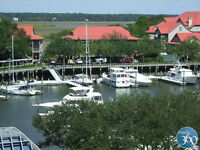 Gorgeous 2B condo in Hilton Head overlooking Shelter Cove Marina