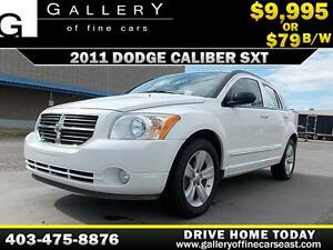 2011 Dodge Caliber SXT $79 bi-weekly APPLY NOW DRIVE NOW