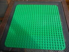 VERY LARGE THIN GREEN LEGO / DUPLO BUILDING BASE BOARD