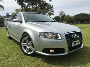 2007 Audi A4 B7 S Line Multitronic Silver 7 Speed Constant Variable Sedan Somerton Park Holdfast Bay Preview