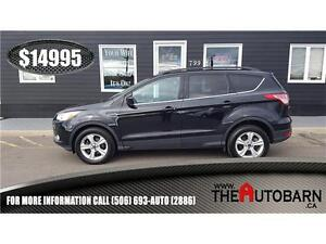 2014 FORD ESCAPE SE FWD- cruise, bluetooth, heated leather seats