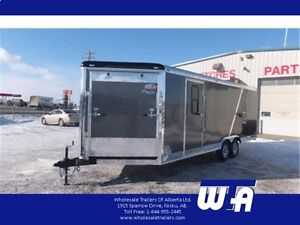 NOW ON CLEARANCE! 8.5X22' Cargomate Enclosed V-Nose