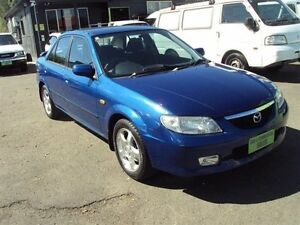 2001 Mazda 323 BJ Protege Platinum Edition Blue 4 Speed Automatic Sedan Punchbowl Canterbury Area Preview