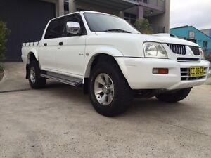 2006 Mitsubishi Triton GLS 4x4 2.8L Turbo Diesel Yennora Parramatta Area Preview