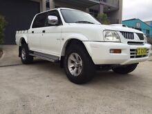 2006 Mitsubishi Triton GLS 4x4 2.8L Turbo Diesel Guildford Parramatta Area Preview