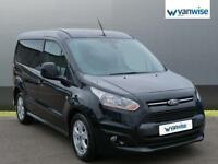 2016 Ford Transit Connect 1.5 TDCi 120ps Limited Van Diesel black Manual
