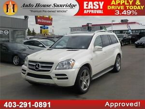 2012 MERCEDES BENZ GL-350 BLUETEC DIESEL AMG LEATHER NAVI BCAM