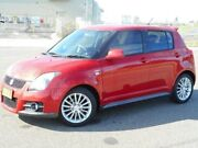 2008 Suzuki Swift RS416 Sport Red 5 Speed Manual Hatchback Run-o-waters Goulburn City Preview