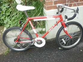 BOYS VINTAGE RALEIGH 5 SPEED RACING BICYCLE IN EXCELLENT CONDITION !