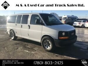 2013 GMC Savana Passenger All Wheel drive, 8 passenger van