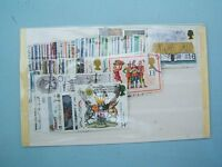 GB COMMEMORATIVE STAMP LOT (1929-1980's) - 73 off