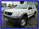 2006 Holden Rodeo RA MY06 Upgrade LX (4x4) White 5 Speed Manual Crew Cab Pickup Minto Campbelltown Area image 2