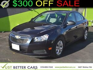 2014 Chevrolet Cruze LS - OWN FOR $51/week