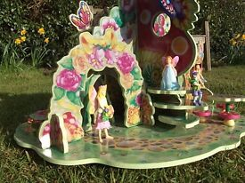 Early learning centre wooden fairy play set
