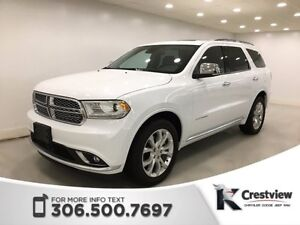 2016 Dodge Durango Citadel AWD V6 | Sunroof | Navigation | DVD