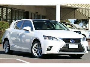 2016 Lexus CT ZWA10R MY16 CT200h Limited Edition Sonic Quartz & Black Roof 1 Speed Constant Variable Christies Beach Morphett Vale Area Preview