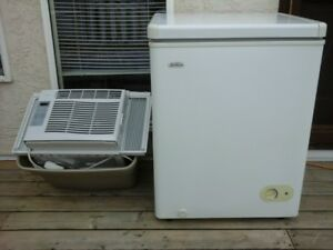 "SMALL FREEZER 22""X24 1/2""x 33""HT - GOOD AIR CONDITIONER APT.SIZE"