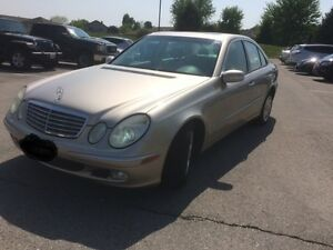 2004 Mercedes-Benz E-Class E320 Sedan 4Matic