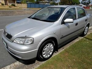 2001 Holden Astra TS City Silver 4 Speed Automatic Sedan Slacks Creek Logan Area Preview