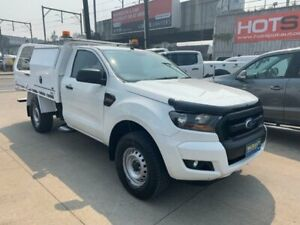 2015 Ford Ranger PX MkII XL White 6 Speed Sports Automatic Cab Chassis Granville Parramatta Area Preview