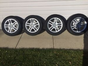 "15"" rims with tires fit toyota cars"