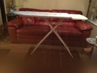 Brabantia Ironing Board with Steam Iron Rest Model Ice Water