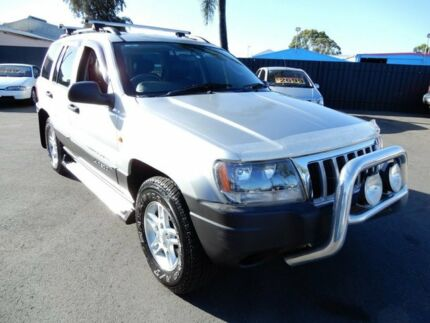 2004 Jeep Grand Cherokee WG MY2004 Laredo Silver 4 Speed Automatic Wagon