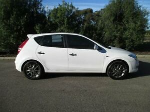 2012 Hyundai i30 FD MY12 Trophy White 4 Speed Automatic Hatchback Hoppers Crossing Wyndham Area Preview