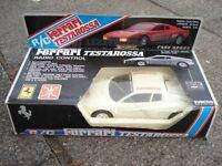 retro Ferrari Testarossa radio controled car