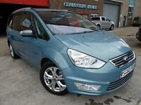 2010 Blue Ford Galaxy 2.0TDCi Powershift Titanium X Mania Diesel Automatic MPV