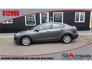 2013 MAZDA 3 GS-Sky - Heated seats, bluetooth, ONLY 63935 km