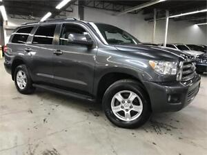 TOYOTA SEQUOIA SR5 4X4 2016 / 5.7L / CAMERA / DVD / 8 PASSAGERS!
