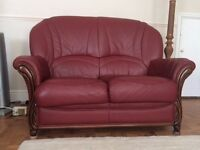 Leather Cottage style sofas