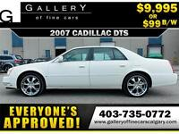 2007 Cadillac DTS 4.6l $99 bi-weekly APPLY NOW DRIVE NOW