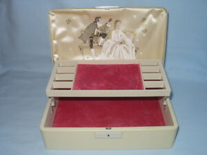 Vintage FARRINGTON Jewellery Box