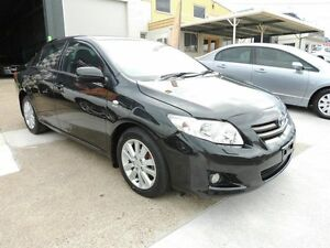 2007 Toyota Corolla ZRE152R Ultima Black 4 Speed Automatic Sedan Yeerongpilly Brisbane South West Preview