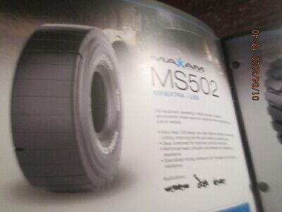 Maxam Heavy Equipment Backhoe Forklift Tires Catalog Book Ms202 Ms801 Ms502