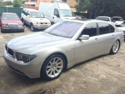 BMW 745Li 740i 735Li E66 E65 Wrecking Parts Wrecking Now Wetherill Park Fairfield Area Preview