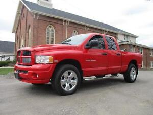 2005 Dodge Ram 1500 - ONLY 166KM - 4X4 - CERTIFIED - DETAILED!!