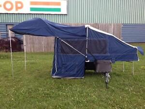 New 2015 Bunkhouse Motorcycle Cargo/Camper Trailer